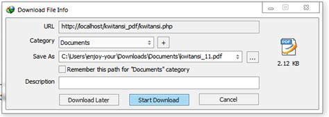 tutorial html2pdf php membuat report pdf dengan html2pdf pada php kursus