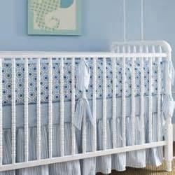 honeycomb blue crib bedding by house