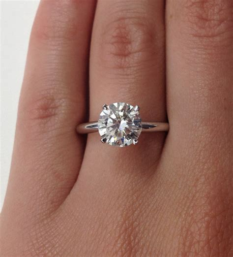 2 carat wedding ring 2 karat diamond rings wedding promise diamond
