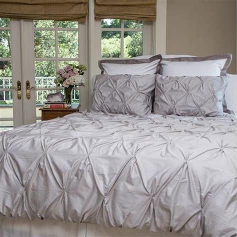 white pintuck comforter set grey pintuck duvet cover set 3 pc cotton by