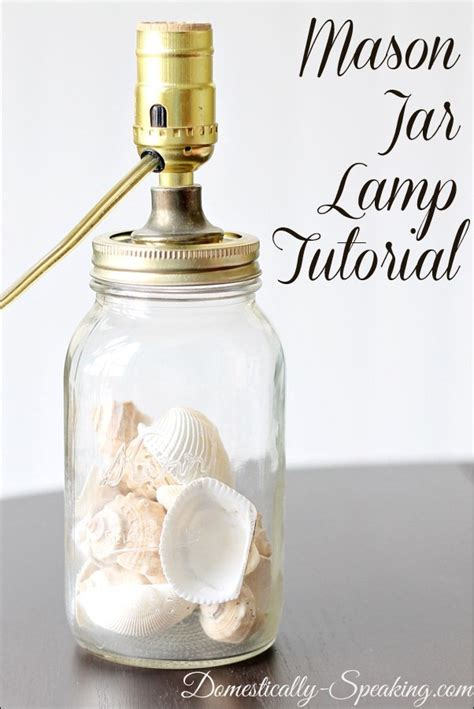 How To Make A Jar Light by Make Ls With Jars Home Lilys Design Ideas