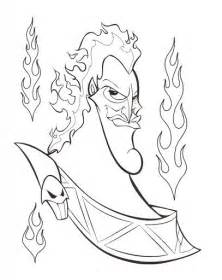 disney villains coloring book hades coloring page disney villains coloring pages