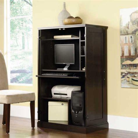 sauder computer armoire cinnamon cherry sauder cinnamon cherry computer armoire sau 411614