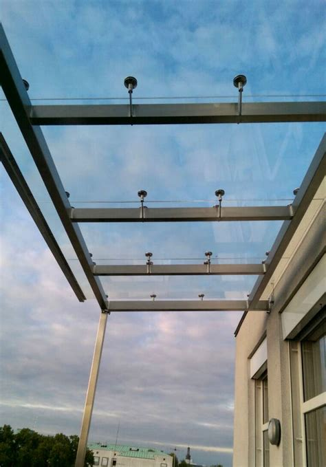 terrasse glasdach patio panther glas