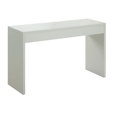 convenience concepts console table convenience concepts northfield white console table