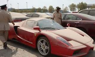 Buy Cars From Dubai Auction Abandoned Enzo To Be Auctioned In Dubai