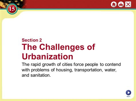 immigrants and urbanization ppt