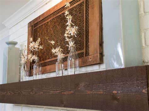 mantel wall decor fixer a to renovate an 80s ranch home hgtv