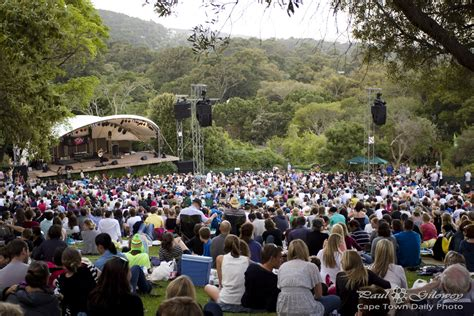 Kirstenbosch Summer Sunset Concerts Cape Town Daily Photo Botanical Gardens Concerts