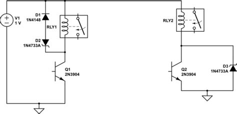 why use a diode relay why do designers use a series diode and zener for coil suppression rather than just a