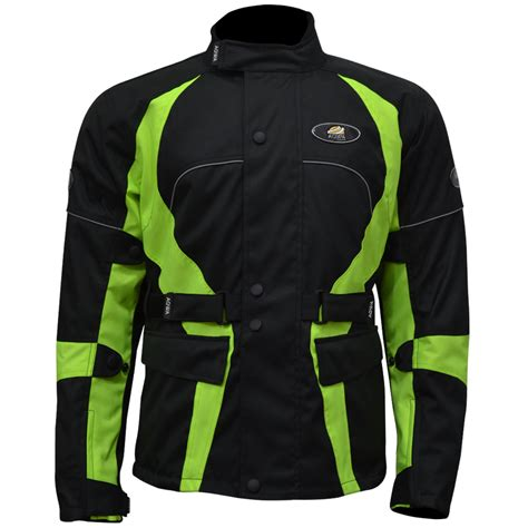fluorescent waterproof cycling jacket motorcycle long jacket waterproof fluorescent large