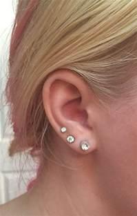 best 25 lobe piercing ideas on