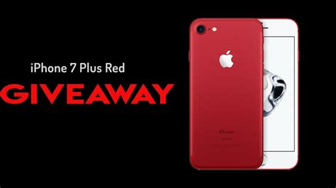 Free Iphone 7 Red Giveaway - 99 iphone 7 2017 red yesterday apple quietly announced the brand new productred