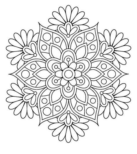 imagenes de mandalas faciles y bonitas mandalas para colorear faciles y bonitas buscar con