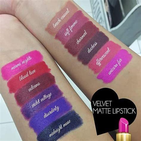 Nyx Velvet nyx velvet matte lipstick swatches swatches lipstick