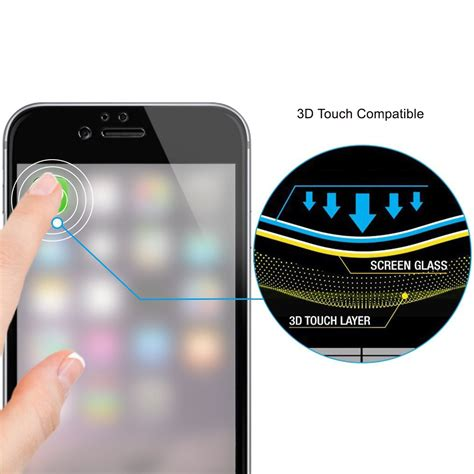 Tempered Glass 3 D For Iphone 4 3d tempered glass screen protector apple iphone 8 plus