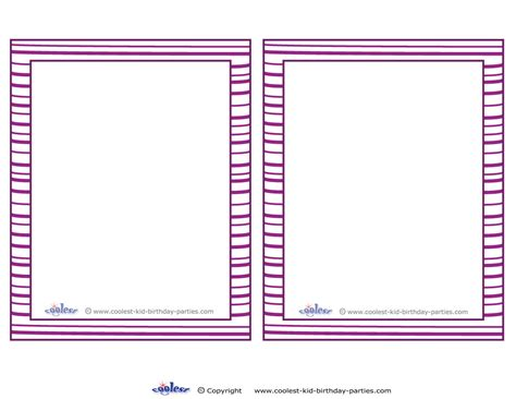 blank printable invitation cards 6 best images of blank printable invitations free blank