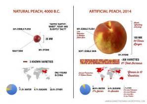 artificial vs natural peach james kennedy