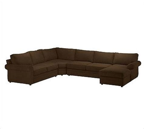 sectional with wedge pearce upholstered left 4 piece chaise with corner wedge