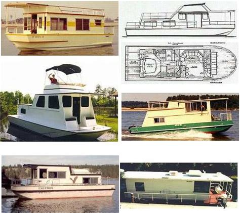 affordable house boats home ideas 187 pontoon house boat plans