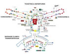 atlanta airport floor plan ati superconference 2016 travel plans