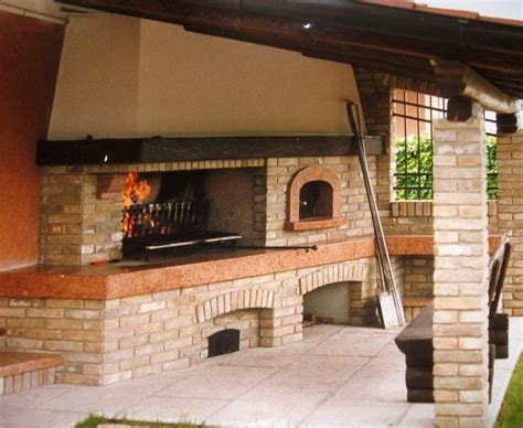 forni a legna con barbecue da giardino forno a legna in muratura da esterno con iacoangeli forni