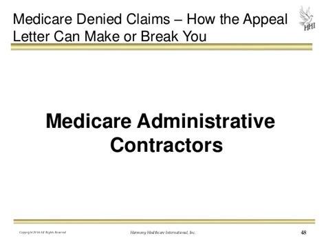 Sle Appeal Letter Denied Medicare Claim Medicare Part B Letter Pictures Inspirational Pictures