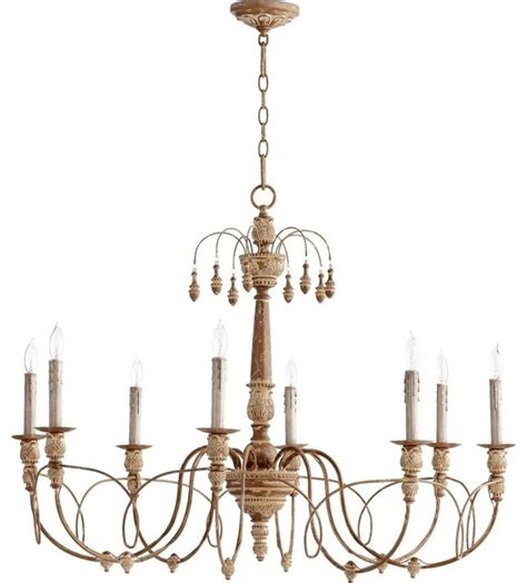 mediterranean chandelier quorum lighting salento traditional chandelier x 49 8 6016