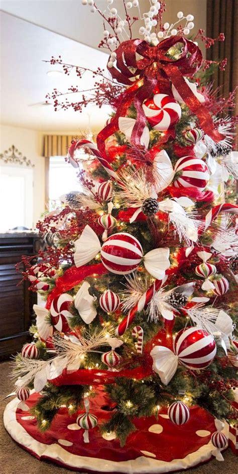decorar arbol de navidad 2018 arboles de navidad color rojo tendencias 2018 2019