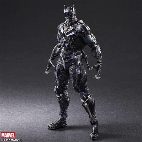 figure black panther marvel universe variant play arts black panther