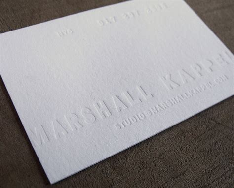 how to make letterpress business cards 40 letterpress business cards unique business cards