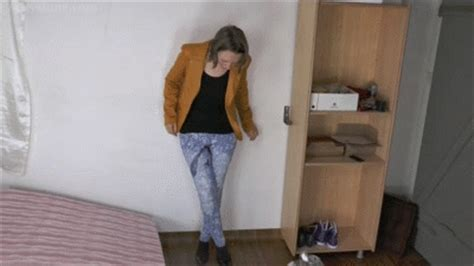 tumblr for the love of pee hd she is desperate and accidentally wets herself on