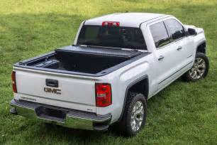 Tonneau Covers For Gmc Trailfx 174 Gmc Denali 2016 Tri Fold Tonneau Cover