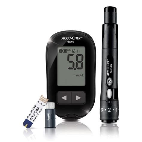 Glucose Meter accu chek aviva blood glucose meter available to buy at williams supplies