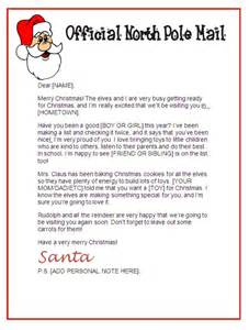 santa claus letter template 25 unique letter from santa template ideas on