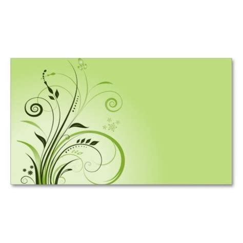 free green card templates 101 best images about 100 creative green business cards