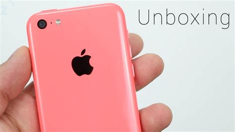 Hp Iphone 5c Pink pink iphone 5c unboxing on