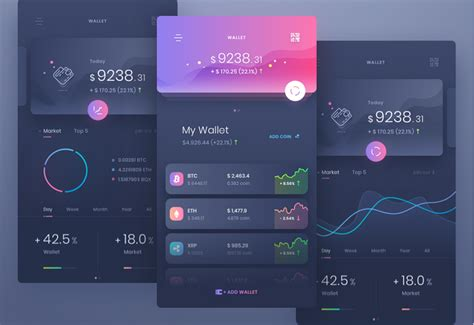 10 Latest Mobile App Interface Design Exles Templates In 2018 Application Ui Templates