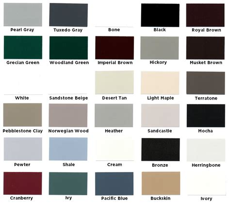 gutter colors quality aluminum gutter colors columbus gutter