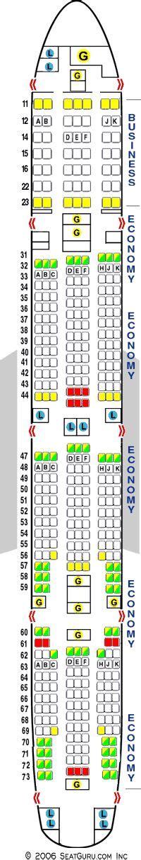 seating guru seatguru seat map air india boeing 777 300er 773