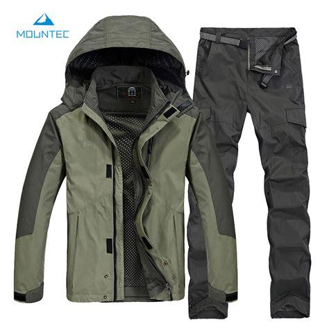 Koper Set Fashion Waterproof sport jacket cing hiking clothing softshell clothes fishing clothes waterproof jacket