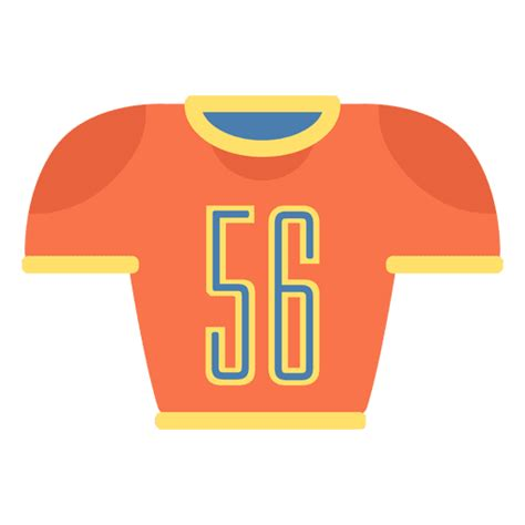 american football jersey icon transparent png svg vector