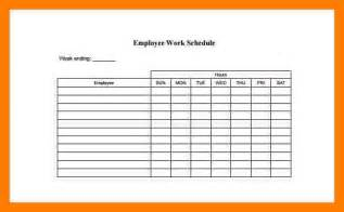 5 employee schedules templates teller resume