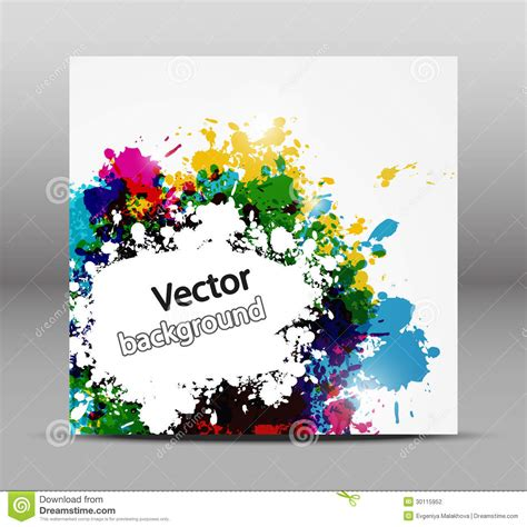 color paint abstract background stock photography image 30115952