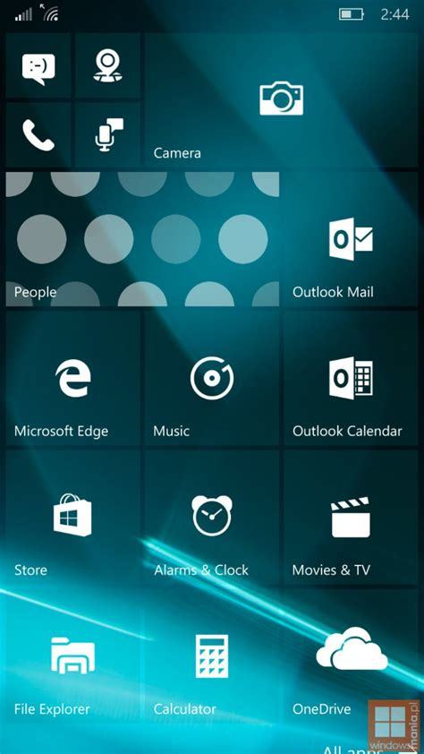 imagenes para windows 10 mobile im 225 genes filtradas de windows 10 mobile build 10152 poderpda