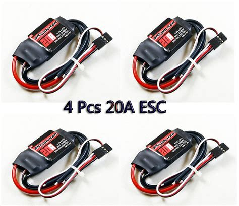 Esc Hobbywing Skywalker 20a Rc Brushless Speed Controller Pesawat aliexpress buy hobbywing 20a esc skywalker brushless speed controller bec for 4 axis