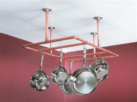Pipe Pot Rack by Construct A Copper Pipe Pot Rack Quarto Homes
