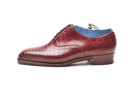 crocodile shoes crocodile bespoke shoe foster