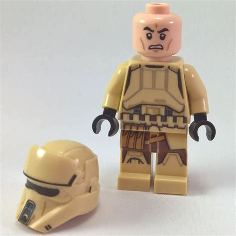 Lego Stormtrooper Minifigure scarif stormtrooper with weapon lego minifigure rogue one wars ebay