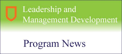 Leadership Development Program Mba by Lmd Wins Innovation And Creativity Award Au Faculty Of